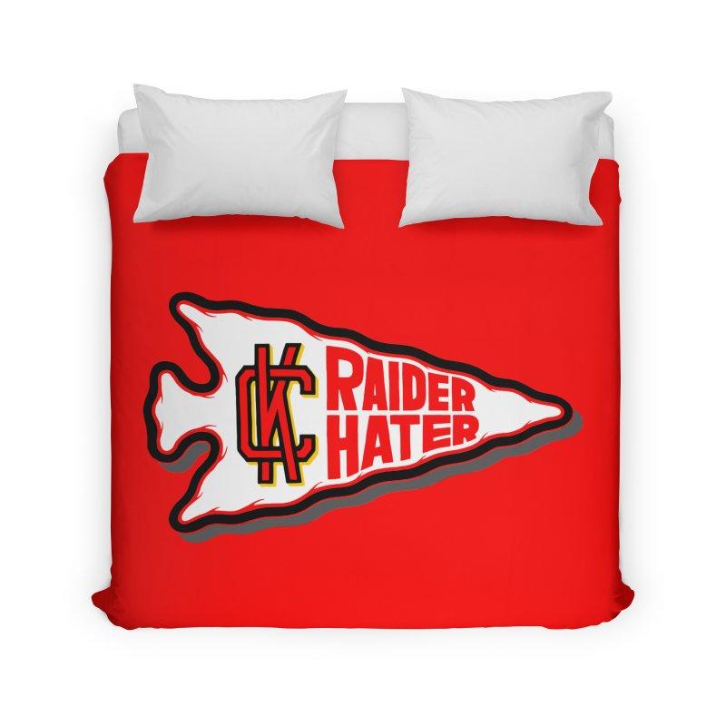 Raider Hater No. 2 Home Duvet by redleggerstudio's Shop