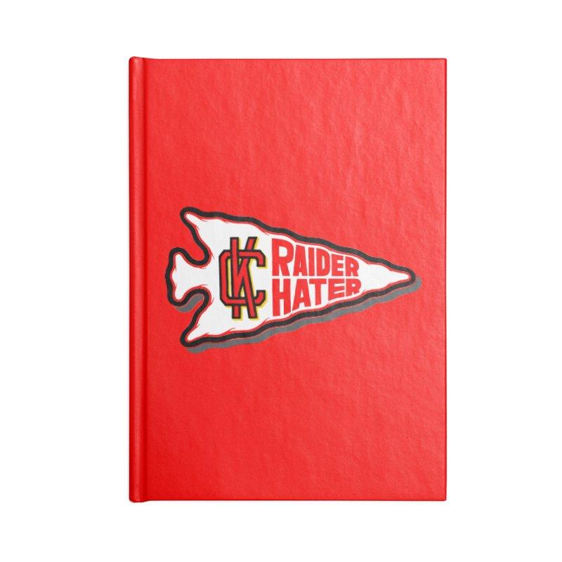 Raider Hater No. 2 Accessories Blank Journal Notebook by redleggerstudio's Shop