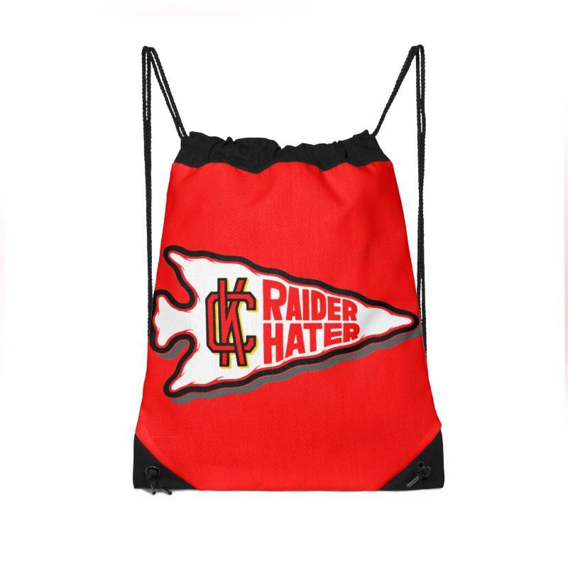 Raider Hater No. 2 Accessories Drawstring Bag Bag by redleggerstudio's Shop
