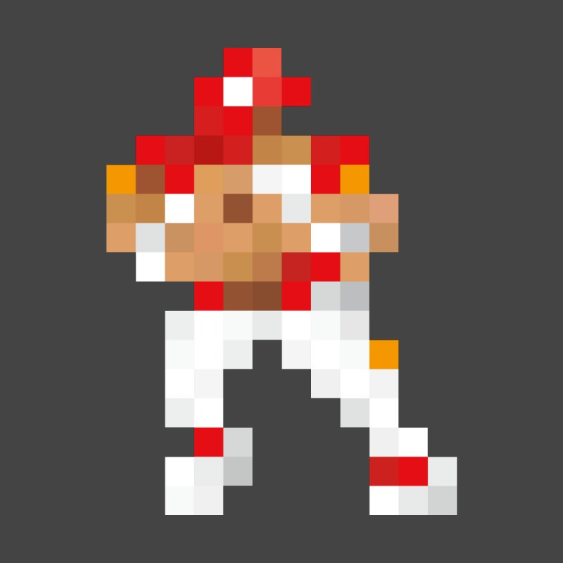 KC Pixel Player Men's T-Shirt by redleggerstudio's Shop