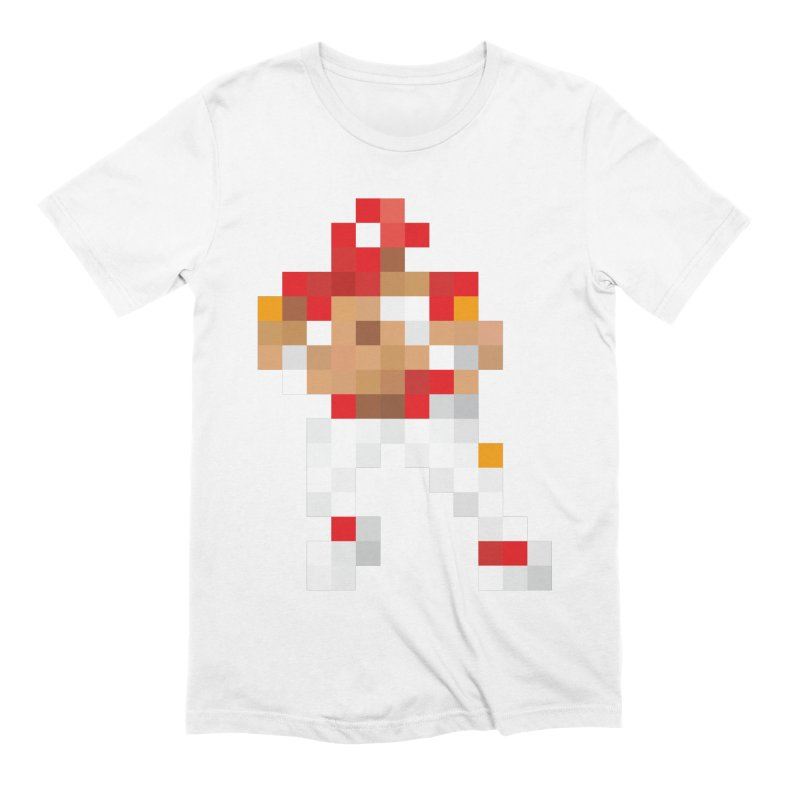 KC Pixel Player Men's Extra Soft T-Shirt by redleggerstudio's Shop