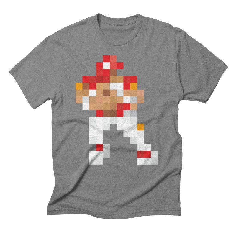 KC Pixel Player Men's Triblend T-Shirt by redleggerstudio's Shop