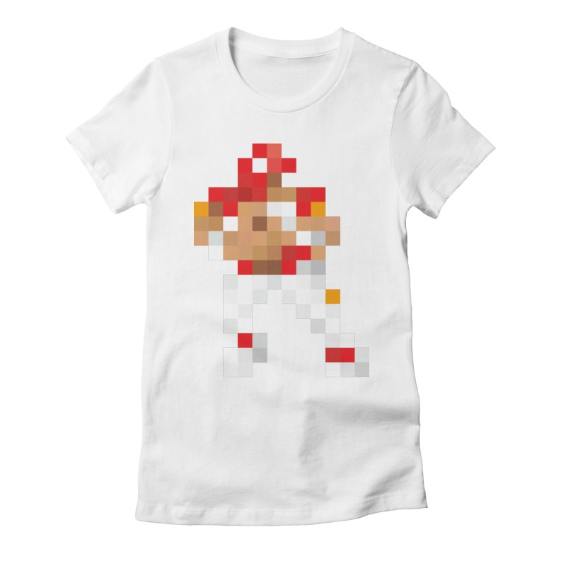 KC Pixel Player Women's Fitted T-Shirt by redleggerstudio's Shop