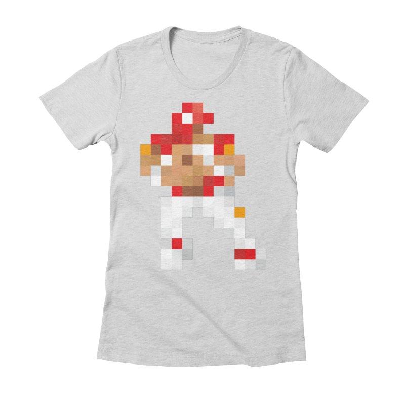 KC Pixel Player Women's Fitted T-Shirt by redleggerstudio's Shop