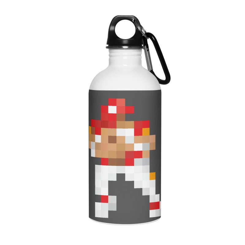 KC Pixel Player Accessories Water Bottle by redleggerstudio's Shop