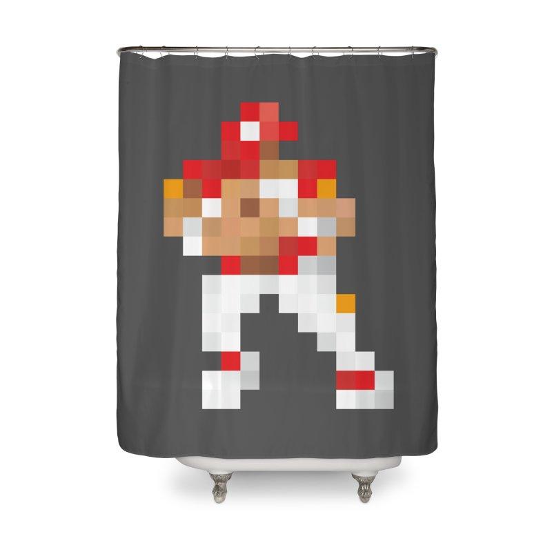 KC Pixel Player Home Shower Curtain by redleggerstudio's Shop
