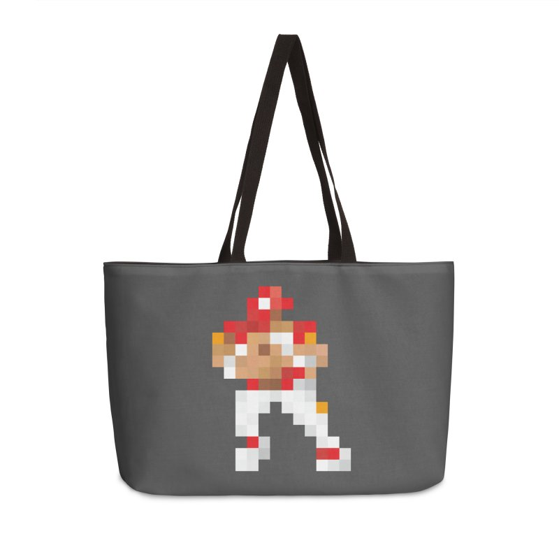 KC Pixel Player Accessories Weekender Bag Bag by redleggerstudio's Shop