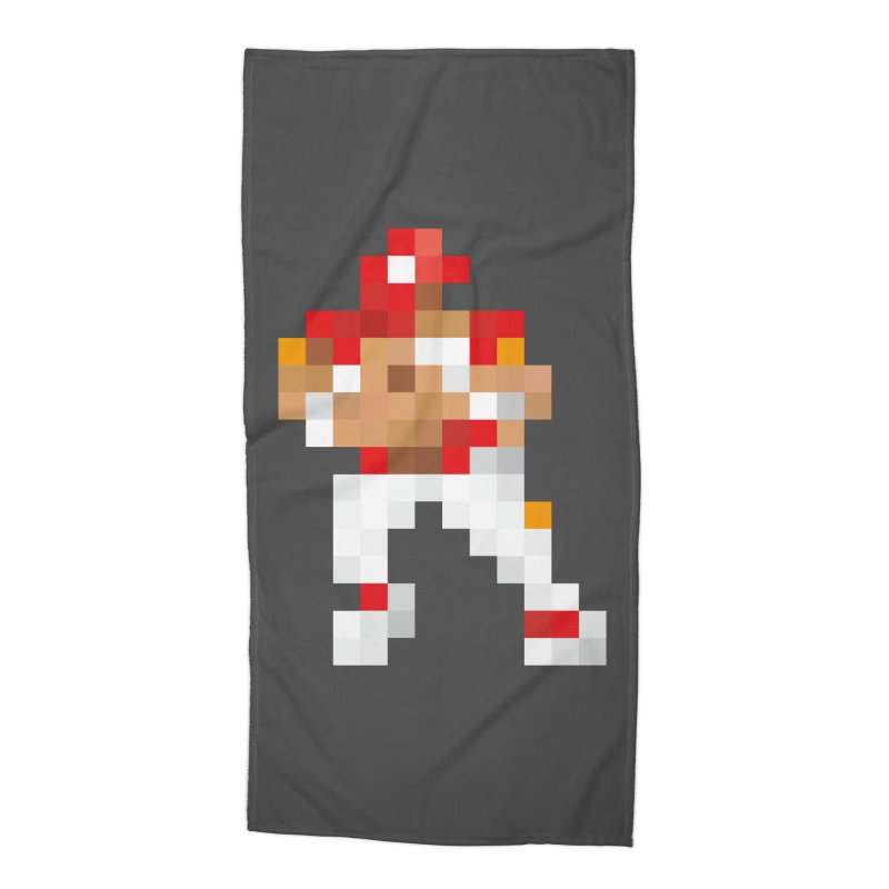 KC Pixel Player Accessories Beach Towel by redleggerstudio's Shop