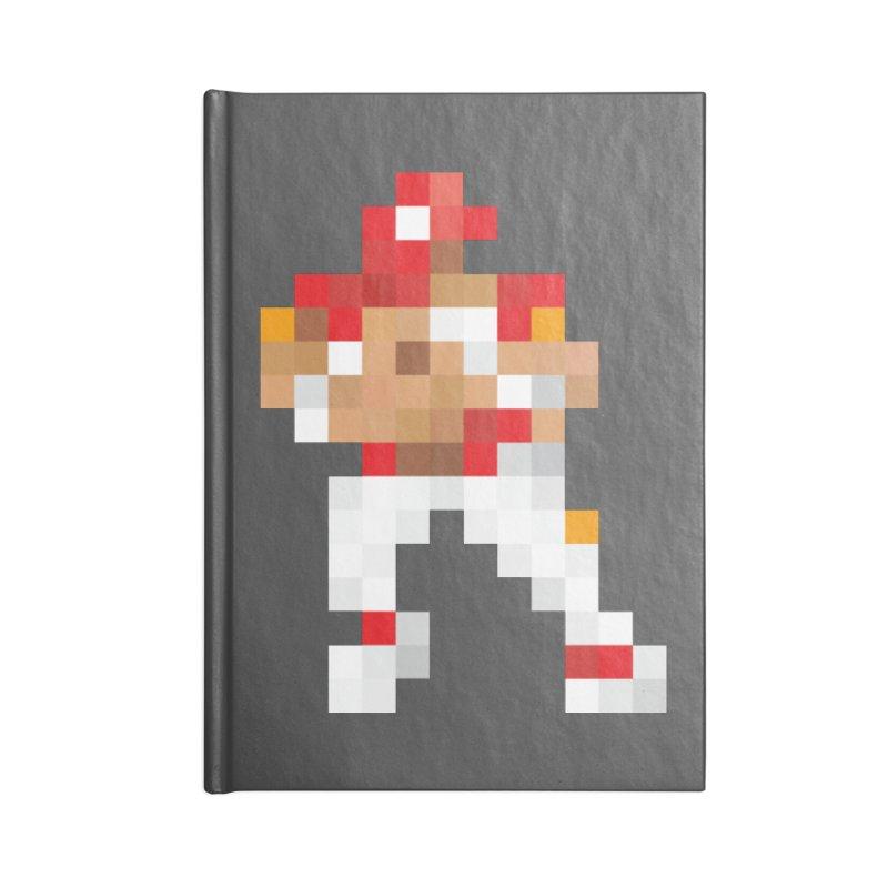 KC Pixel Player Accessories Lined Journal Notebook by redleggerstudio's Shop
