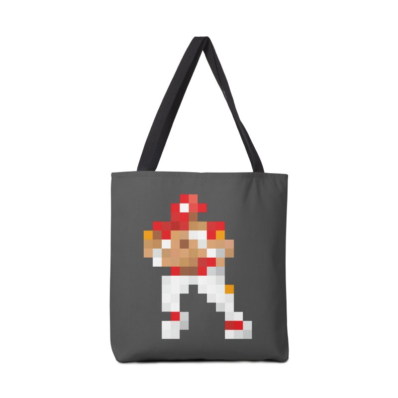 KC Pixel Player Accessories Tote Bag Bag by redleggerstudio's Shop