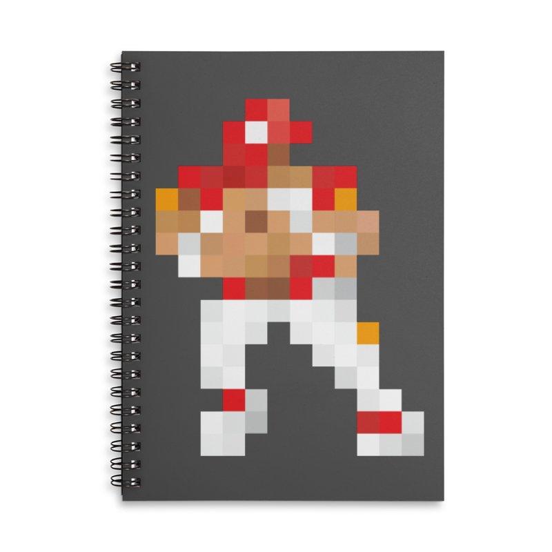 KC Pixel Player Accessories Notebook by redleggerstudio's Shop