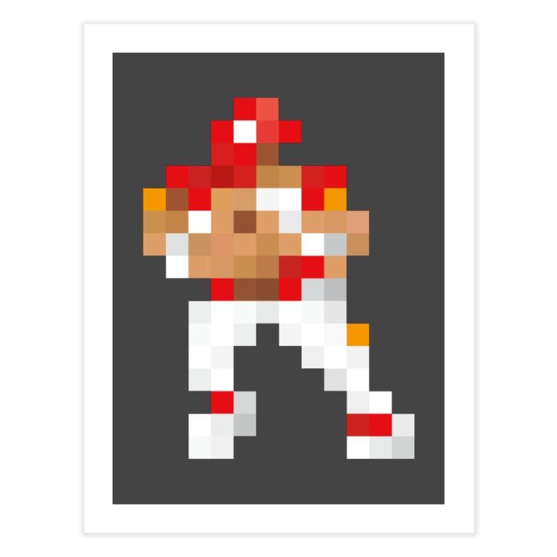 KC Pixel Player Home Fine Art Print by redleggerstudio's Shop
