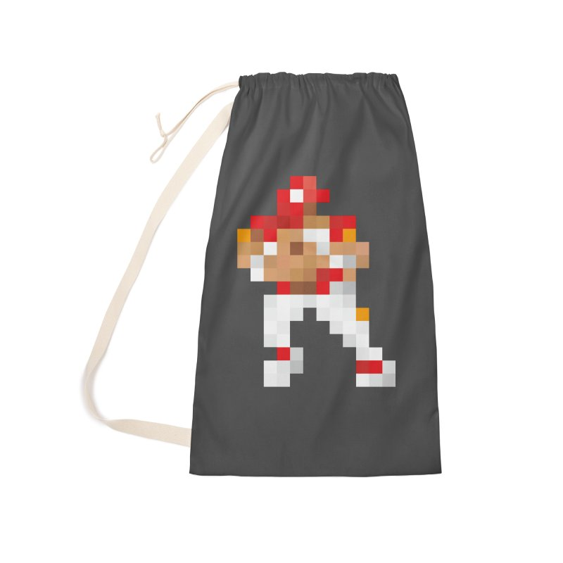 KC Pixel Player Accessories Laundry Bag Bag by redleggerstudio's Shop