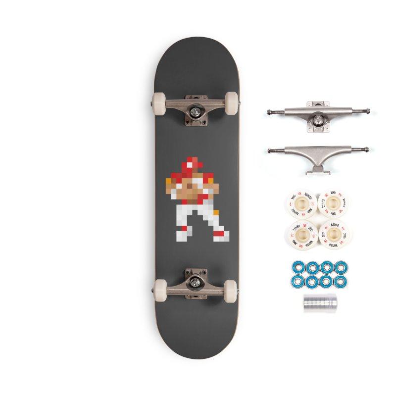 KC Pixel Player Accessories Complete - Premium Skateboard by redleggerstudio's Shop