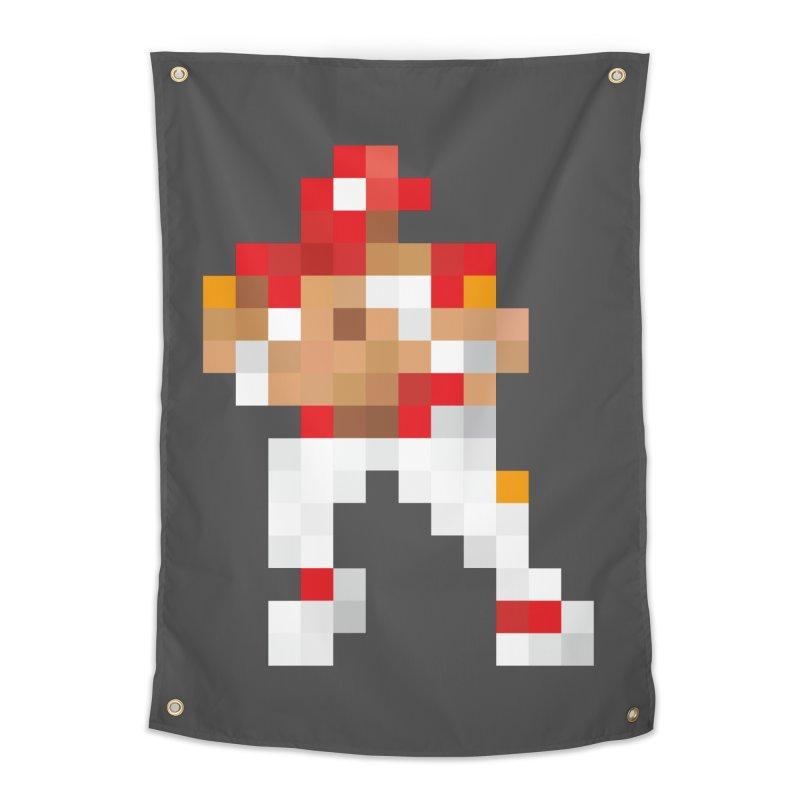 KC Pixel Player Home Tapestry by redleggerstudio's Shop