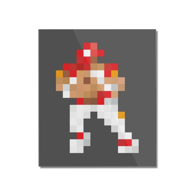 KC Pixel Player Home Mounted Acrylic Print by redleggerstudio's Shop