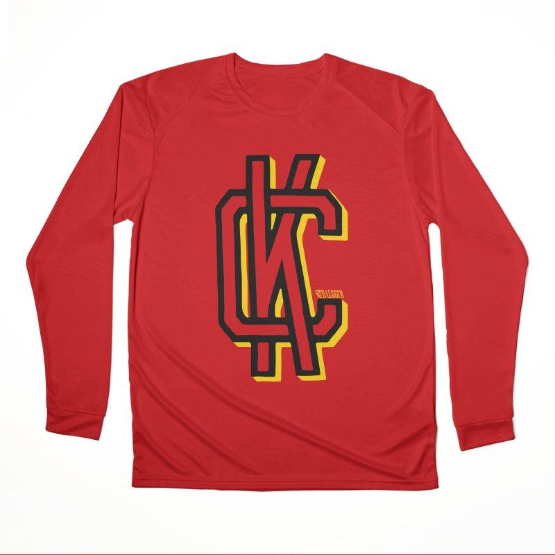 KC Logo Women's Performance Unisex Longsleeve T-Shirt by redleggerstudio's Shop