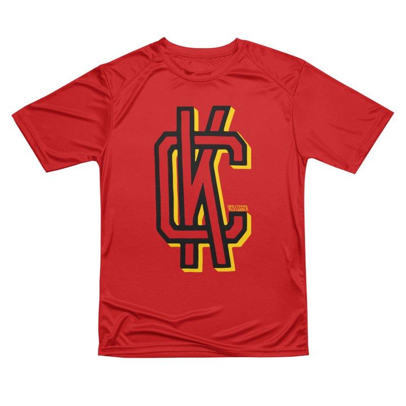 KC Logo Men's Performance T-Shirt by redleggerstudio's Shop