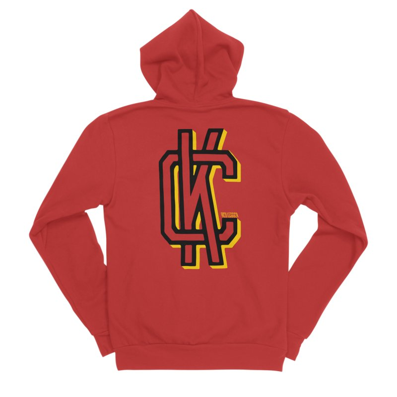 KC Logo Men's Sponge Fleece Zip-Up Hoody by redleggerstudio's Shop