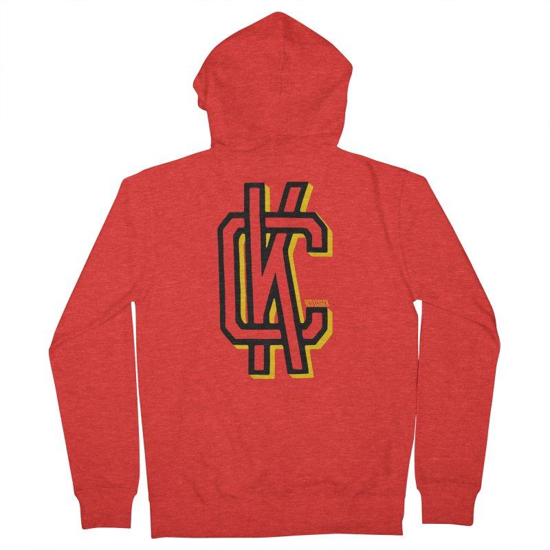 KC Logo Women's Zip-Up Hoody by redleggerstudio's Shop