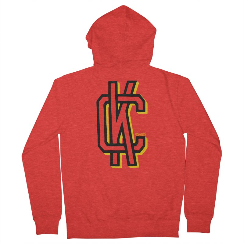 KC Logo Men's Zip-Up Hoody by redleggerstudio's Shop