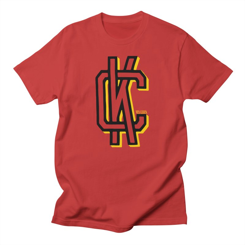 KC Logo Men's T-Shirt by redleggerstudio's Shop