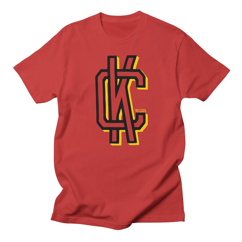 KC Logo Men's T-Shirt by redleggerstudio's Shop