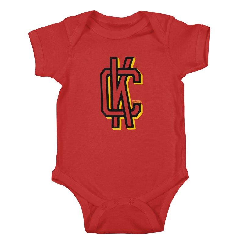 KC Logo Kids Baby Bodysuit by redleggerstudio's Shop