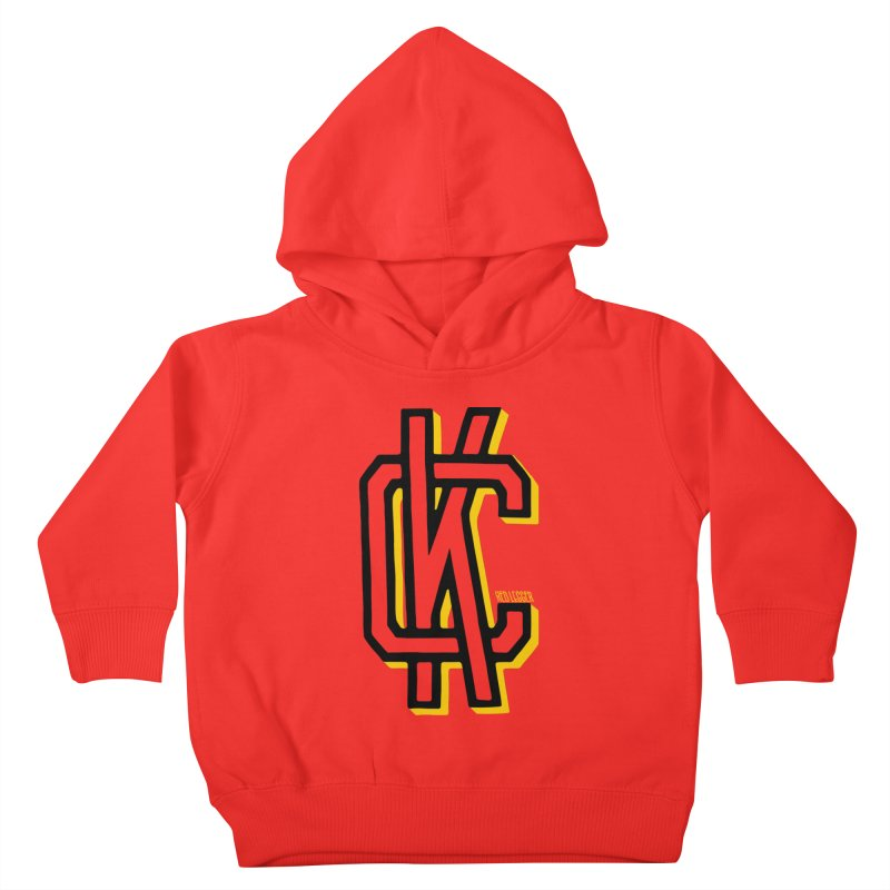 KC Logo Kids Toddler Pullover Hoody by redleggerstudio's Shop