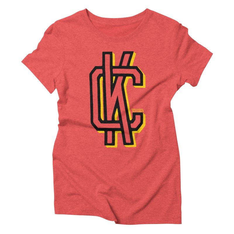 KC Logo Women's T-Shirt by redleggerstudio's Shop