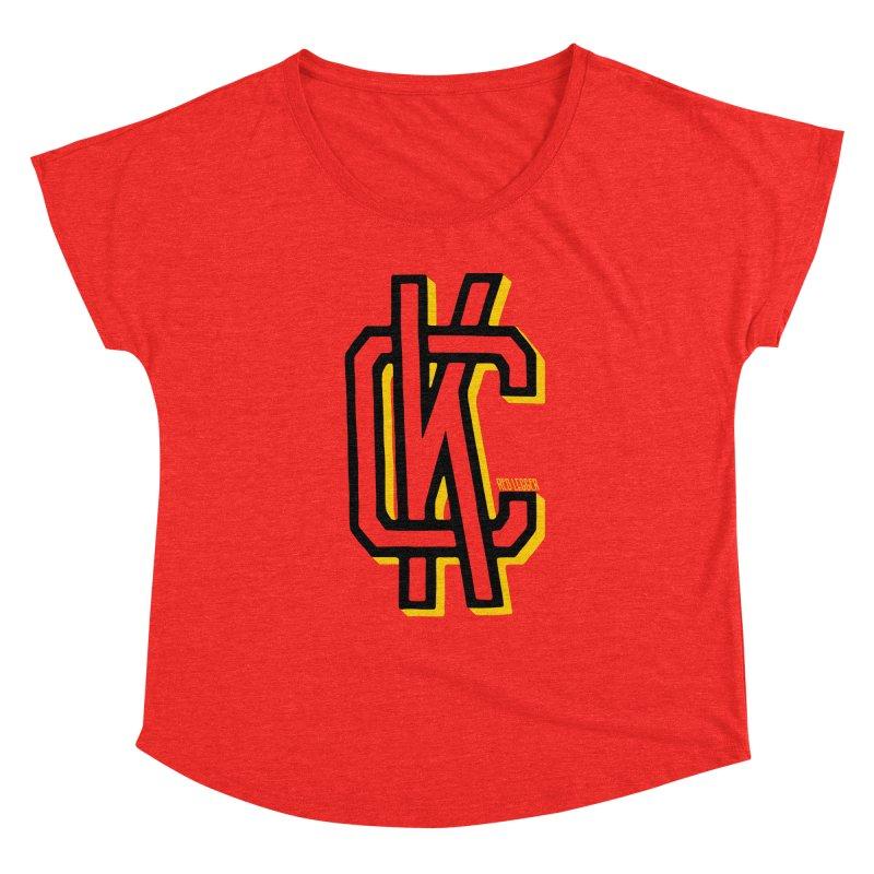 KC Logo Women's Scoop Neck by redleggerstudio's Shop