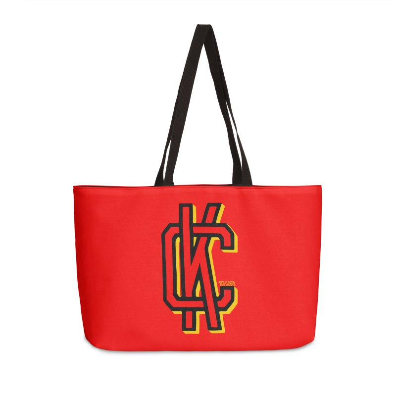 KC Logo Accessories Weekender Bag Bag by redleggerstudio's Shop