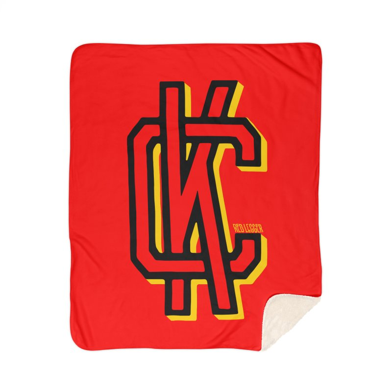 KC Logo Home Blanket by redleggerstudio's Shop