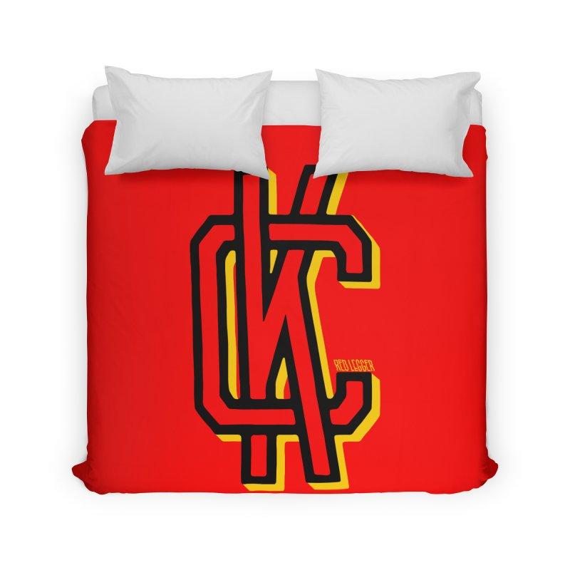 KC Logo Home Duvet by redleggerstudio's Shop