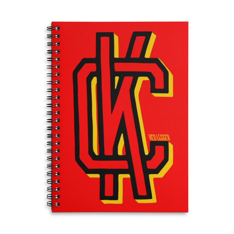 KC Logo Accessories Notebook by redleggerstudio's Shop
