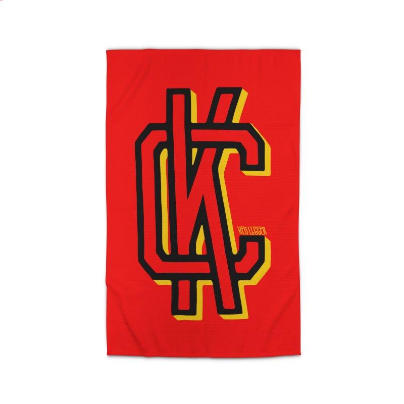 KC Logo Home Rug by redleggerstudio's Shop