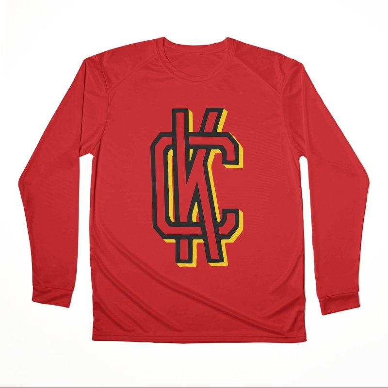 KC Logo Men's Performance Longsleeve T-Shirt by redleggerstudio's Shop