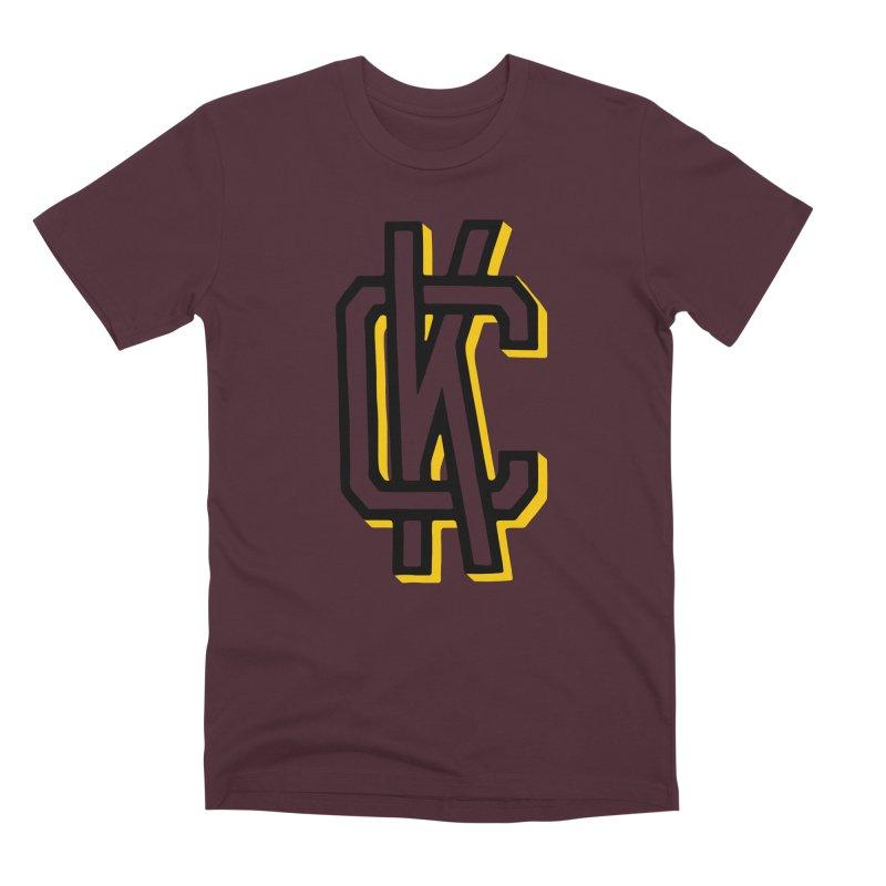 KC Logo Men's Premium T-Shirt by redleggerstudio's Shop