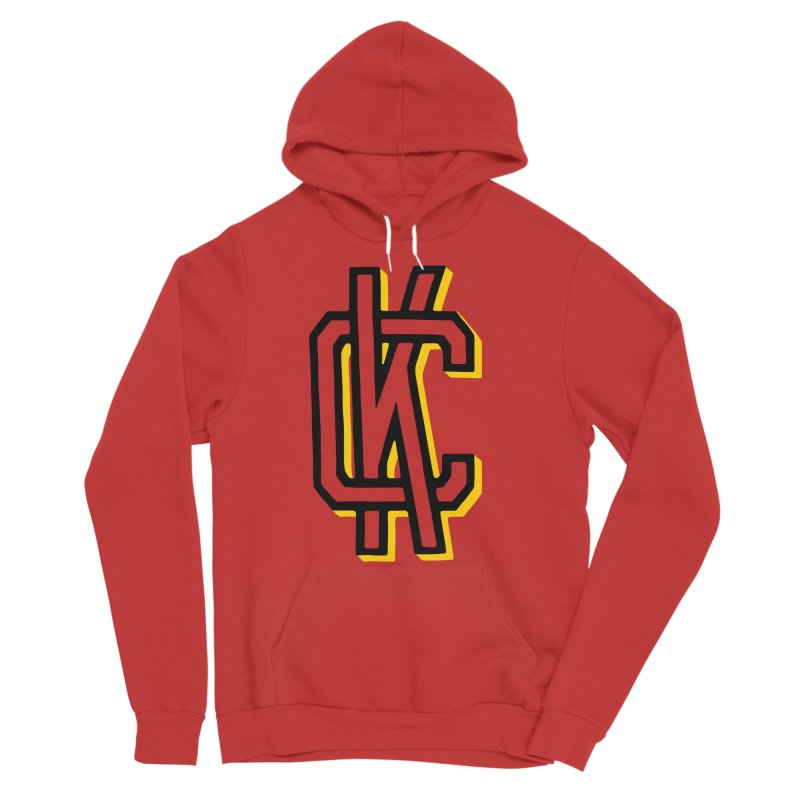 KC Logo Men's Sponge Fleece Pullover Hoody by redleggerstudio's Shop