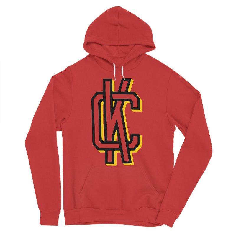 KC Logo Women's Sponge Fleece Pullover Hoody by redleggerstudio's Shop