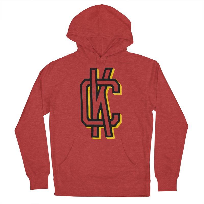 KC Logo Men's French Terry Pullover Hoody by redleggerstudio's Shop