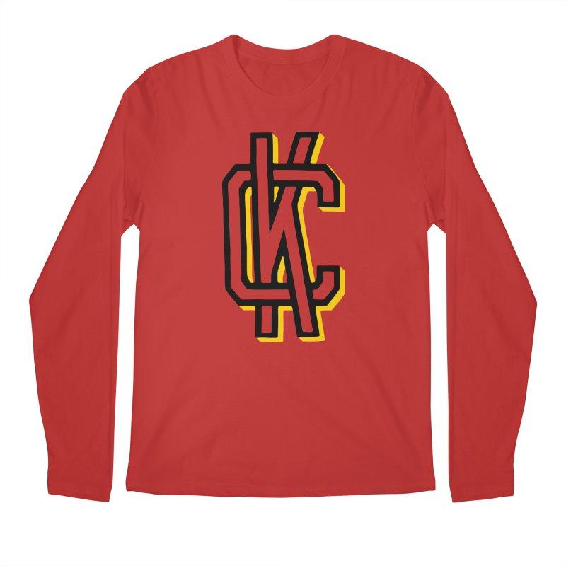 KC Logo Men's Regular Longsleeve T-Shirt by redleggerstudio's Shop