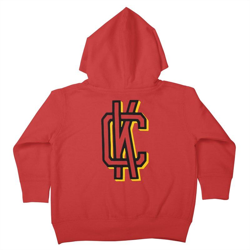 KC Logo Kids Toddler Zip-Up Hoody by redleggerstudio's Shop