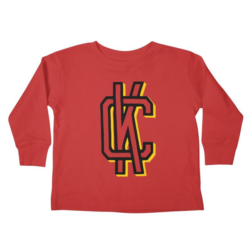 KC Logo Kids Toddler Longsleeve T-Shirt by redleggerstudio's Shop