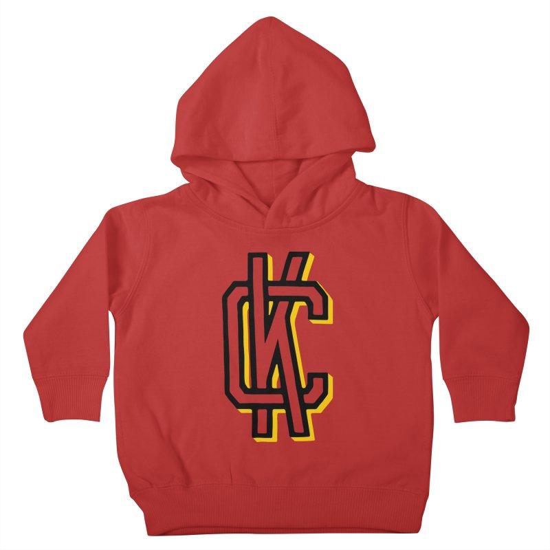KC Logo Kids Toddler Pullover Hoody by redleggerstudio's Shop