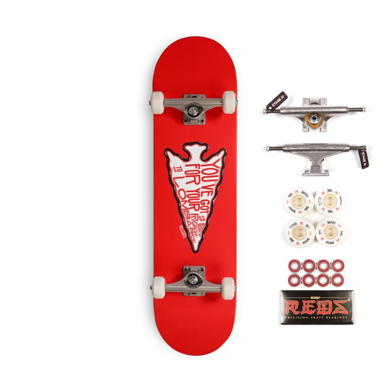 You've Got to Fight For Your Right to Lombardi Accessories Complete - Pro Skateboard by redleggerstudio's Shop