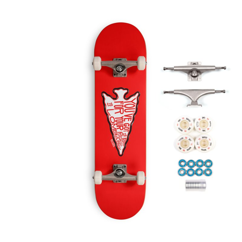 You've Got to Fight For Your Right to Lombardi Accessories Complete - Premium Skateboard by redleggerstudio's Shop