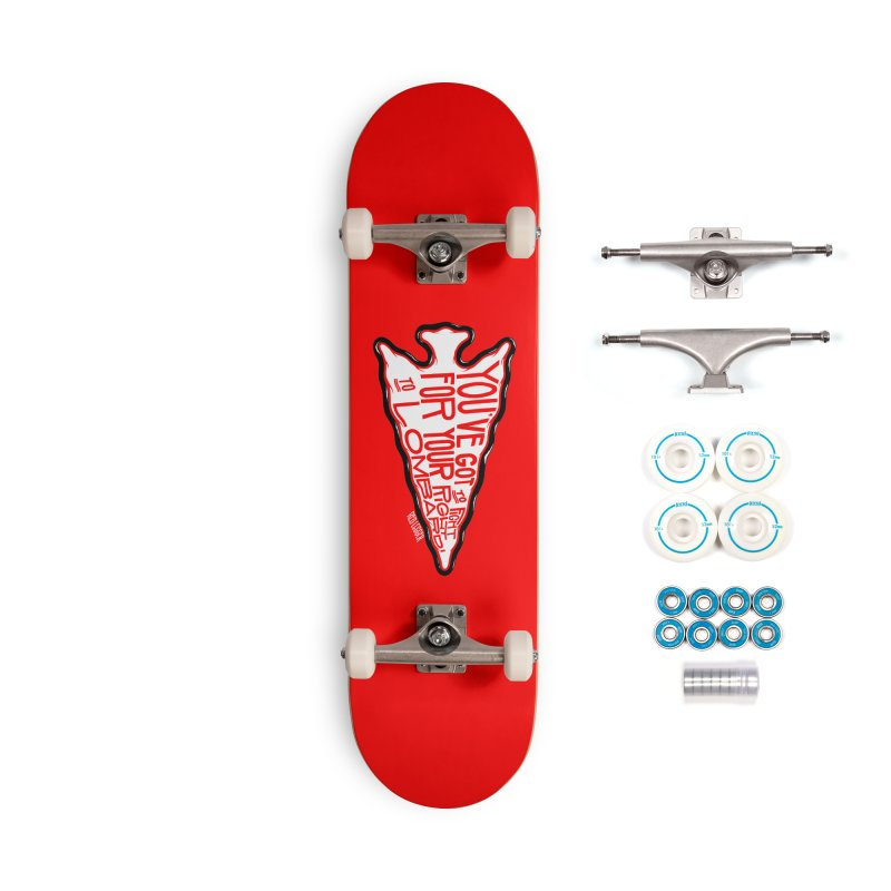 You've Got to Fight For Your Right to Lombardi Accessories Skateboard by redleggerstudio's Shop
