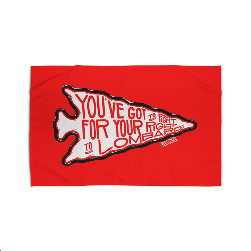 You've Got to Fight For Your Right to Lombardi Home Rug by redleggerstudio's Shop