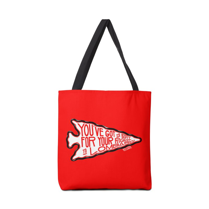 You've Got to Fight For Your Right to Lombardi Accessories Bag by redleggerstudio's Shop